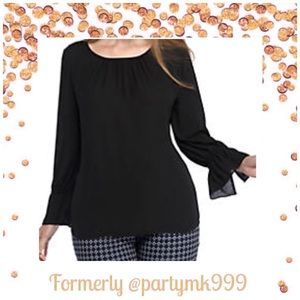 Tops - Baby Bell Sleeve Round Neck Top NWT Ret $79